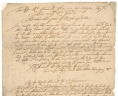 Virginia (Colony), Colonial Papers, Petition, 6 April 1691, Folder 8, No. 17, Record Group 1, Accession 36138, State Government Records Collection, Library of Virginia, Richmond, Virginia., LVA