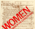 Put Women in the Constitution poster, Virginia Equal Rights Amendment Ratification Council. Records, 1970–1982. Accession 31486. Organization  Records  C ollection, Library of Virginia, Richmond, Virginia., LVA