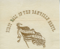 """First Ball of the Danville Greys,""1860, Broadside, 1860 .F52 BOX, Special Collections, Library of Virginia.,"