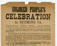 Broadside 189- .C7 FF, Special Collections, Library of Virginia, Richmond, Virginia., LVA