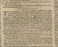 Notices pertaining to the Yorktown Tea Party, November 24, 1774, Purdie and Dixon, Virginia Gazette, page 2, Special Collections, Library of Virginia, Richmond, Virginia., LVA
