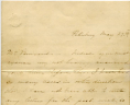 Pattie B. Cowles to George S. Bernard, May 27, 1861, George S. Bernard Papers, Acc. 31760, Library of Virginia.,