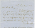 Samuel Ayres and Son to Benjamin Franklin Gravely, May 18, 1861, Gravely Family Papers, Acc. 34126, Library of Virginia.,