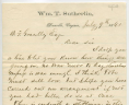 William T. Sutherlin to Benjamin Franklin Gravely, July 9, 1861, Gravely Family Papers, Acc. 34126, Library of Virginia.,