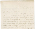 Sarah A. Logan to Governor John Letcher, April 20, 1861, Executive Papers of Governor John Letcher, Acc. 36787, State Government Records Collection, Record Group 3, Library of Virginia.,