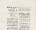 """Fight at Bull Run,""  1861, Broadside, 1861 .F47 FF, Special Collections, Library of Virginia.,"