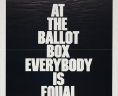 At the Ballot Box, Everybody is Equal, Register and Vote: Join the NAACP, (created between 1970 and 1979). Poster. Gary Yanker Collection, Prints and Photographs Division, Library of Congress. Courtesy of the NAACP.,
