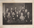 A Group of Philadelphia Abolitionists with Lucretia Mott. Philadelphia: F. Gutekunst. Offset lithograph. Manuscript Division, Library of Congress, Washington, D.C., LOC