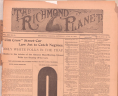 <em> Richmond Planet,</em> April 30, 1904, Boxed Newspapers, Library of Virginia, Richmond, Virginia., LVA