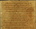 George Mason, Declaration of Rights, 1776, Accession 21512, Personal Papers Collection, Library of Virginia, Richmond, Virginia., LVA