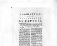 """Poughkeepsie, July 2, 1788. Just arrived by express, The ratification of the new constitution by the Convention of the State of Virginia . . ."" Printed in Poughkeepsie: 1788, Rare Book and Special Collections Division, Printed Ephemera Collection; Portfolio 111, Folder 15e, Library of Congress., LOC"