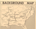 Background Map: 1961 Freedom Rides. [New York]: Associated Press Newsfeature, [1962]. Printed map and text. Geography and Map Division. Library of Congress, Washington, D.C., LOC
