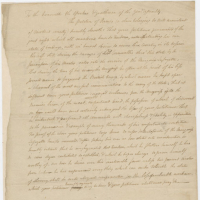 Legislative Petition for James, Slave Belonging to William Armistead, November 30, 1786, Box 179, Folder 10, Library of Virginia, Richmond,Virginia.
