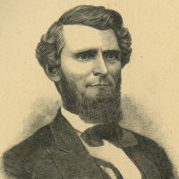 Arthur Ingraham Boreman (1823&#8211;1896). Engraving in George W. Atkinson, <em>Prominent Men of West Virginia</em> (1890).