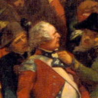 Detail from Storming a Redoubt at Yorktown, oil on canvas, 1840. Library of Virginia Fine Arts Collection: acquired 1878.