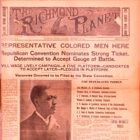 The <em>Richmond Planet</em>, 10 September 1921, Newspapers Boxed, Library of Virginia, Richmond, Virginia.