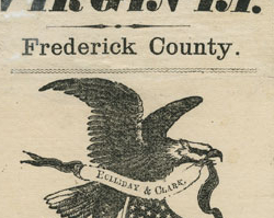 Frederick County Election Ticket, February 4, 1861