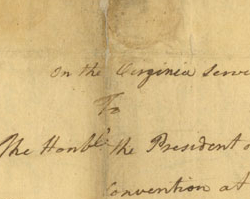 William Woodford Letter about the Battle of Great Bridge, December 9, 1775