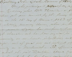 Petition on the Behalf of William Breedlove, December 19, 1863