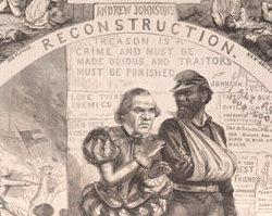 Andrew Johnson Political Cartoon, September 1, 1866