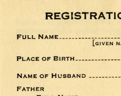 Registration of Birth and Color, 1924