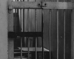 Cell at Occoquan Workhouse and Pauline Adams in Prison Garb, Photographs, 1917
