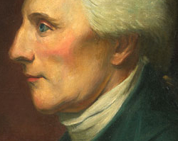 Richard Henry Lee, oil painting