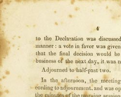 "Report of the Seneca Falls Convention with the ""Declaration of Sentiments,"" July 19, 20, 1848"