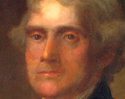 Thomas Jefferson, oil painting
