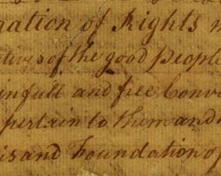 The Virginia Declaration of Rights, June 12, 1776