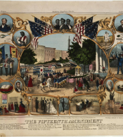 Fifteenth Amendment lithograph