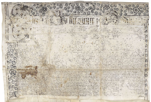 Commission of Charles I's Appointing Sir Francis Wyatt Royal Governor of Virginia, 11 January 1639, Accession 24702, Special Collections, Library of Virginia, Richmond, Virginia.
