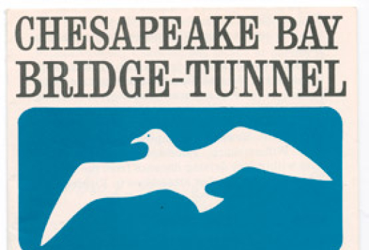 Chesapeake Bay Bridge-Tunnel, 1964, Brochure, TG25.C52 C53 1964, Library of Virginia, Richmond, Virginia.