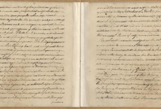 Virginia, Convention, General Correspondence, Minutes, and Journals, 1774—1776, Accession 30003, Library of Virginia, Richmond, Virginia.