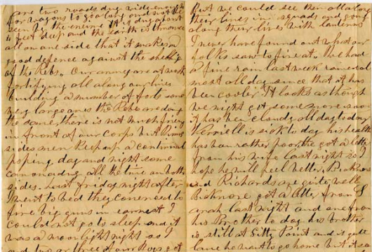Elisha O. Drake. Letters, 15 June–21 August 1864, Accession 39170, Personal Papers Collection, Library of Virginia, Richmond, Virginia.