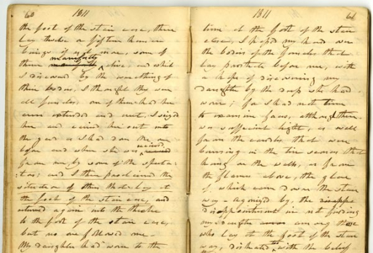 Charles Copland, Diary, 1788–1823, Accession 22236, Personal Papers Collection, Library of Virginia, Richmond, Virginia.