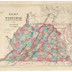 New map of Virginia : compiled from the latest maps, 1861. Image LVA00089.jpg. Civil War Map Project digital collection. Library of Virginia. icon