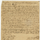 Certificate of John Bennett, aged about 62 yrs. Accession, 41986, Revolutionary War Rejected Claims, box 10, folder 998. icon